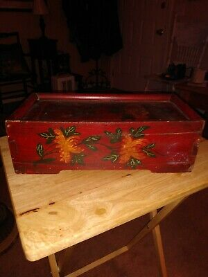 Mid Century Chinese Document Box