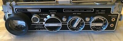 Kudelski Nagra III Broadcast  Reel to Reel Recorder-GREAT CONDITION w/Pwr Supply