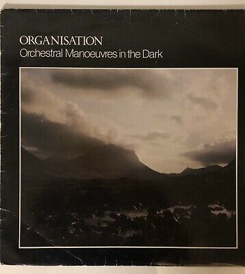OMD Orchestral Manoeuvres In The Dark Organisation Vinyl 1980 Original Release