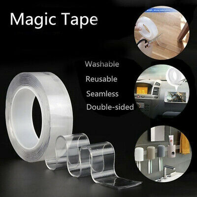 3M Nano Magic Tape Anti-slip Fixed Adhesive Tape Double-Sided Washable Traceless