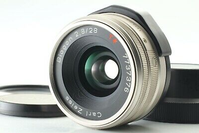 [Near Mint] Contax Carl Zeiss Biogon T* 28mm f2.8 Lens For G1 G2 From Japan 096