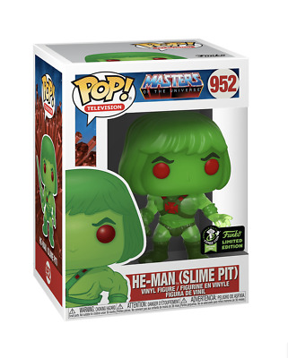 ECCC 2020 Exclusive Funko Pop MOTU HE-MAN SLIME PIT Official Con Sticker PROTECT