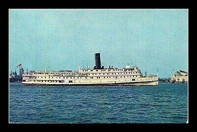 Dr Jim Stamps Us Baltimore Steam Packet Boat City Of Norfolk Postcard Topical