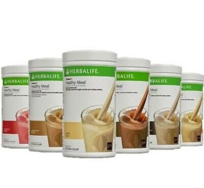 NEW 1X HERBALIFE FORMULA 1 HEALTHY MEAL SHAKE MIX 750g (SELECT FLAVORS)