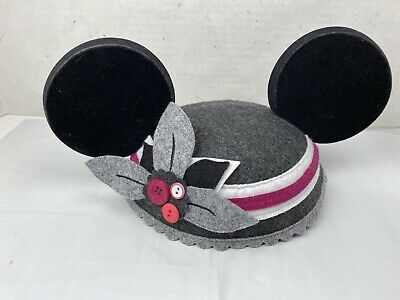 Disney Mickey Mouse Ears Cap - Gray - Exclusive of Decoration