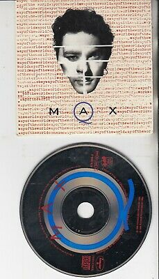 MAX Q Way Of The World CD SINGLE  MICHAEL HUTCHENCE INXS