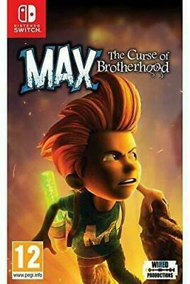 JEUX SWITCH MAX THE CURSE OF BROTHERHOOD ( vers francaise )