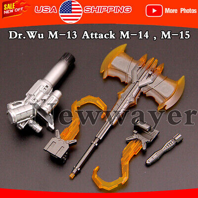 3rd Party Transformers Add-on Wu DR DW-M12 Space Time