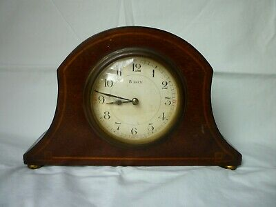 Vintage French 8 Day Mantel Clock-Spares & Repairs Only-Restoration Project?