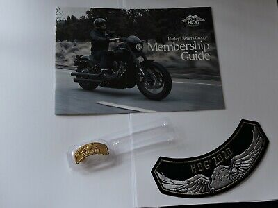 Harley Owners Group HOG Jahrespatch und Pin 2020
