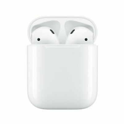 Apple AirPods 2nd Generation Bluetooth Headphones with Charger Case