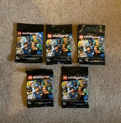 LEGO Minifigures 71026 DC SUPER HEROES SERIES SEALED BAGS X5 Limited Edition