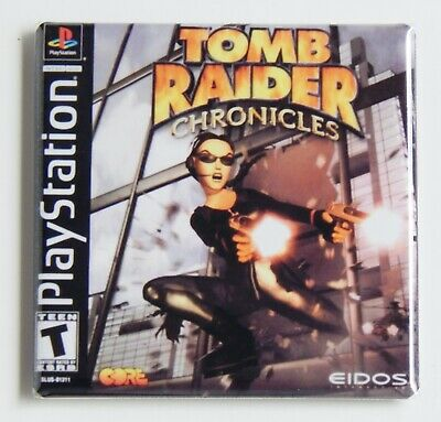 Tomb Raider 3 FRIDGE MAGNET video game box
