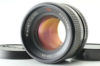 【Excellent+++++】Contax Carl Zeiss Planar T* 50mm f/1.4 AEJ lens from Japan #160