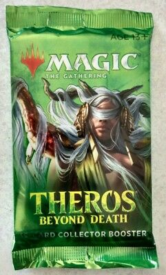 1 Factory Sealed MTG Theros Beyond Death Collector Booster Pack *FREE SHIPPING*