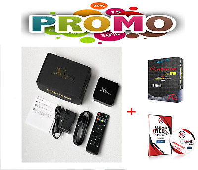 Smart TV BOX X96 mini Android 2GB /16G +MAGNUM OTT(12mois)+NeoTv Pro2(12mois)