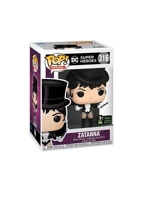Zatanna - DC Super Heroes Funko Pop 2020 ECCC Exclusive Shared Preorder