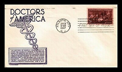 Dr Jim Stamps Us Doctors Of America Cs Anderson First Day Cover Scott 949