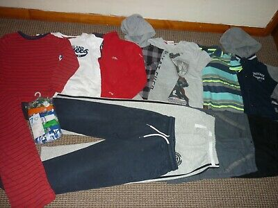 Bundle Boys Clothes age 7-8yrs  Marvel Next Trouser Joggers Tops Hoodie Pyjamas