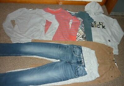 Bundle Boys Clothes age 11-12yrs Jeans Joggers Tops Hoodie  Saltrock  Boden