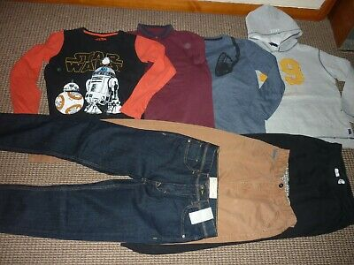 Bundle Boys Clothes age 11-12yrs Joggers Jeans Tops Hoodie Chino's