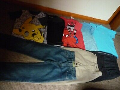 Bundle Boys Clothes age 10-11yrs  Jeans  Joggers  Tops  Chino's Pokemon Sonnetti
