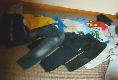 Bundle Boys Clothes age 4-5yrs Next Lego  Jeans Joggers Tops Hoodie Bodywarmer
