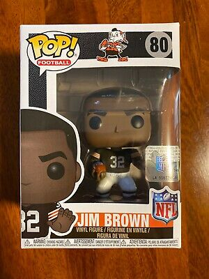 Funko POP! Football NFL Cleveland Browns Jim Brown 80 Vaulted RETIRED NEW NIB