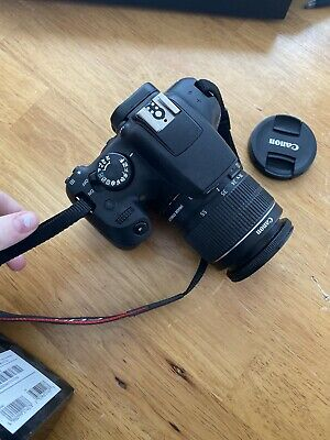 Canon EOS Rebel T6 Camera with 18-55 mm and 75-300 mm Lenses
