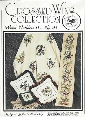 WOOD WARBLERS II ~ CROSSED WING COLLECTION - No. 33 - cross stitch