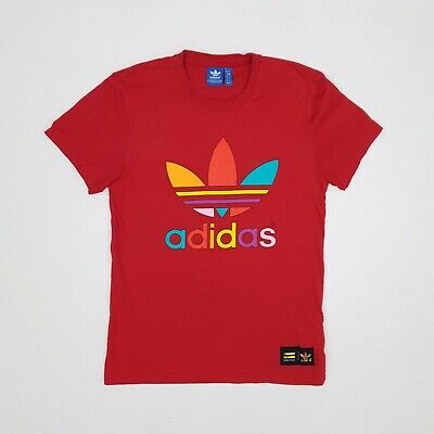 Details about Adidas Originals Adicolor Doodle Flower Trefoil Tee Pharrell Williams T Shirt