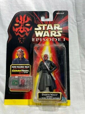 Star Wars Darth Maul with double bladed lightsaber Episode I in Unopened box!