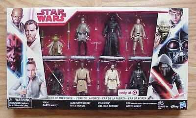 Star Wars ERA OF THE FORCE Action Figure 8-Pack Target Exclusive C-10 Mint MIMB