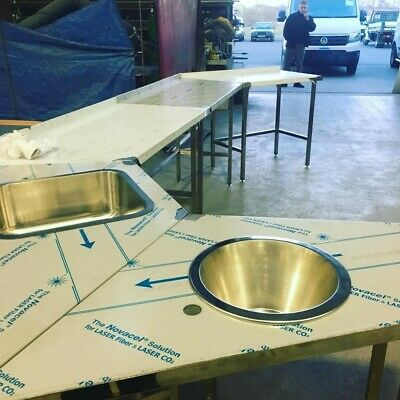 Colmans Commercial Stainless Steel Tables