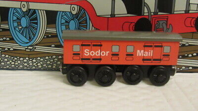 Thomas & Friends Wooden Train SODOR MAIL COACH USED YEAR 1998 GREAT CONDITION