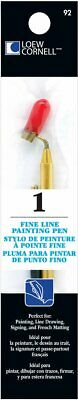 Loew-Cornell Fine Line Painting Pen to Draw Paint or Write Perfect for Artist