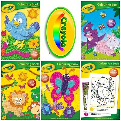 Crayola Childrens Various Colouring / Activity Books UK STOCK FREE POSTAGE
