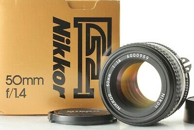 【MINT in Box 】Nikon Ai-S Nikkor 50mm f/1.4 AIS Prime Lens from JAPAN 232