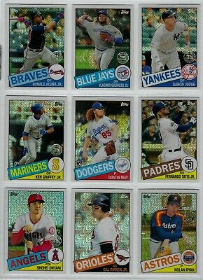2020 Topps Series 1 1985 Silver Pack Chrome - U Pick Cards ~ Buy 5 Get 2 FREE