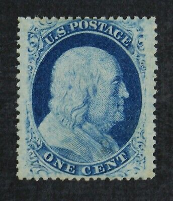CKStamps: US Stamps Collection Scott#24 1c Franklin NG Used?