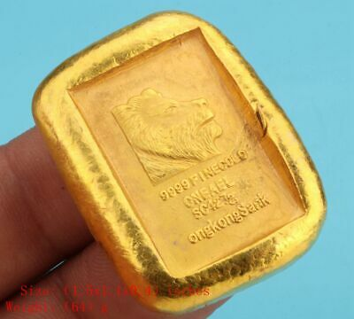 Unique Chinese Gold Plated Brass Commemorative Coins Solid Collection Gifts