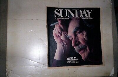 Chicago Tribune Sunday Magazine March 15,1987 FREDERICK POHL COVER, 10 PAGES