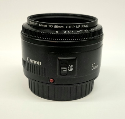 Canon 50mm F/1.8 EF Full Frame