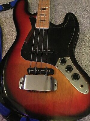 Franconia Wo 20979 Bass Guitar  Used