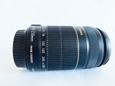 Canon EF-S 55-250mm f/4.0-5.6 IS II Zoom Lens With Image Stabilizer- O