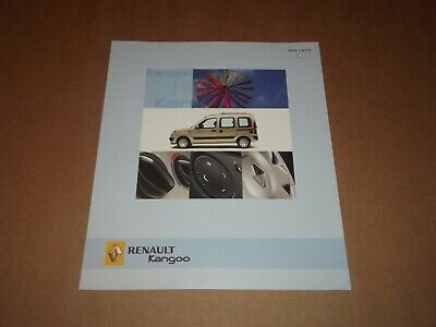Catalogue Renault Kangoo Air 2004.