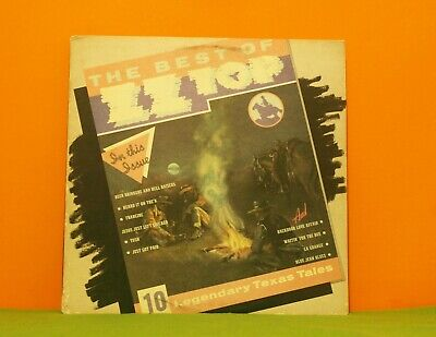 Zz Top - The Best Of - Warner 1977 Ex Vinyl Lp Record