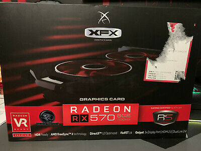 XFX AMD Radeon RX 570 8GB GDDR5 Graphics Card
