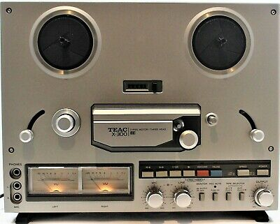 TEAC X-300 Reel to Reel Tape Player/Recorder New in Open Box Rare
