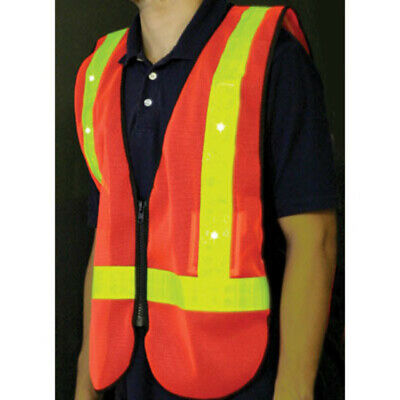 Sunlite Delivery Vest Appare//Delivery Style//Black//Yellow//Reflective